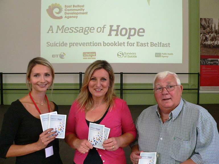 Message of Hope Booklet Launch Aug 2013
