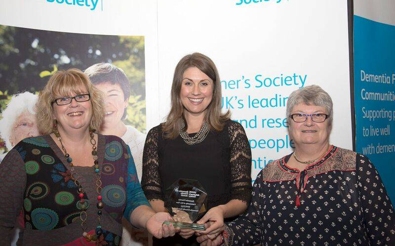Dementia Friendly East Belfast Initiative, which EBCDA co-chairs, recently won the 'Dementia Friendly Community' award at Dementia Friendly Awards ceremony 2016